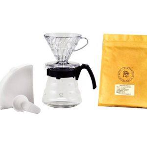 Kit Hario V60 et café